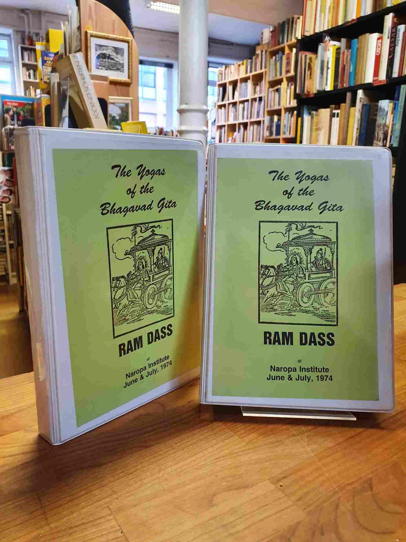 Ram Dass (das ist: Richard Alpert), The Yogas Of The Bhagavad Gita – Ram Dass At