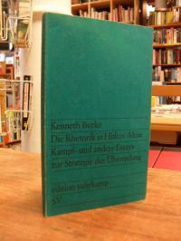 Burke, Die Rhetorik in Hitlers 'Mein Kampf' und andere Essays zur Strategie der