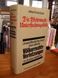De Zayas, Die Wehrmacht-Untersuchungsstelle,