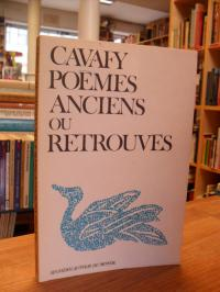 Kabaphes, Poèmes anciens ou retrouvés – 65 poèmes du premier recueil posthume su