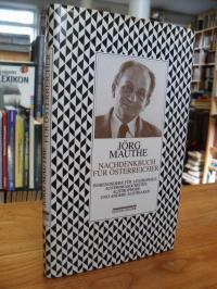 Mauthe, Nachdenkbuch für Österreicher – Insbesondere für Austrophile, Austromaso