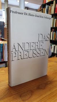 Schoeps, Das Andere Preussen – Konservative Gestalten und Probleme im Zeitalter