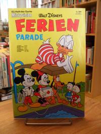 Disney, 10. Heft der Mickyvision. (auf Vorderdeckel: Walt Disney's Ferienparade)