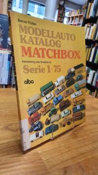 Flößer, Modellauto-Katalog Matchbox,