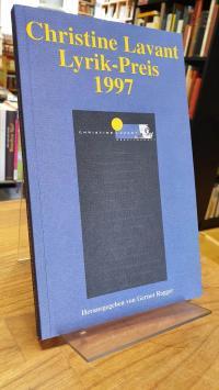 Ragger, Christine-Lavant-Lyrik-Preis 1997,