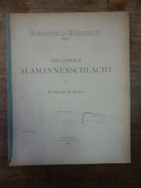 Busch, Chlodwigs Alamannenschlacht. 2. Teil,