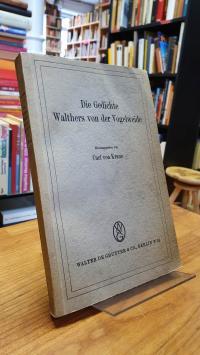 Walter, Die Gedichte Walthers von der Vogelweide,