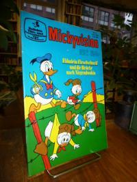 Disney, Walt / Kabatek, Mickyvision, Heft 6 Juni 1976 (auf Vorderdeckel: Fähnl
