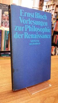 Bloch, Vorlesungen zur Philosophie der Renaissance,