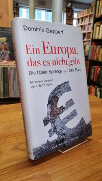 Geppert, Ein Europa, das es nicht gibt – Die fatale Sprengkraft des Euro,