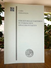 Johanson, Strukturelle Faktoren in türkischen Sprachkontakten,