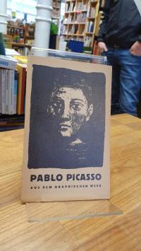 Picasso, Verlagswerbung für 'Pablo Picasso – Aus dem graphischen Werk',