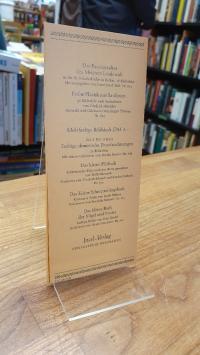 Picasso, Verlagswerbung für 'Neue Bände in der Insel-Bücherei',