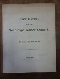 Hölzer, Der Streit um die Nachfolge Ottos II,