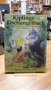 Kipling, Kiplings Dschungelbuch – Ein farbiges Bilderbuch mit Mowglis Geschichte