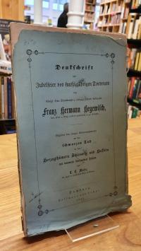 Mahr, Denkschrift zur Jubelfeier des fünfzigjährigen Doctorats des königl. Dän.