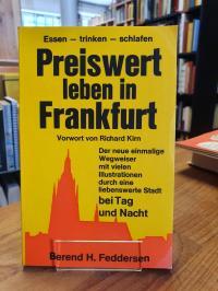 Kirn, Preiswert leben in Frankfurt (abweichend auf dem Vorderdeckel: 'Essen, tri