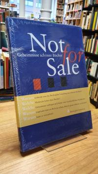 Not for Sale – Geheimnisse schöner Bücher,