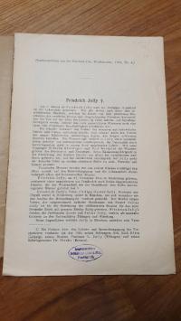 Wetsphal, Necrolog für Friedrich Jolly,