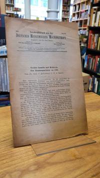 Schelenz, Scabies humida und Dichterin – Eine Krankengeschichte von 1788,