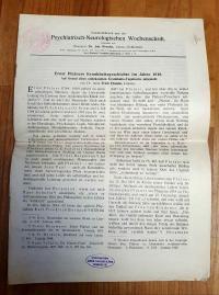 Ebstein, Ernst Platners Krankheitsgeschichte im Jahr 1818 – Auf Grund eines unbe
