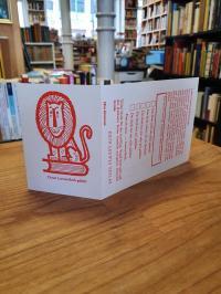 Loewe, Kursbuch-Verlagspostkarte mit Verlags-Exlibris,