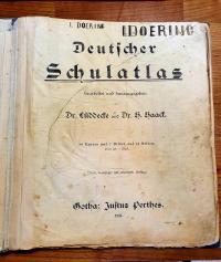 Lüddecke, Deutscher Schulatlas,