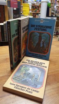 De Camp, Harold Sheas Abenteuer – Band 1, Band 2, Band 3 und Band 5 – Konvolut v