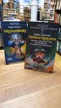 Zelazny, Wechselbalg / Sieben Statuen – [Zwei] Fantasy-Romane,