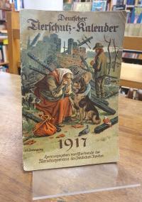 Deutscher Tierschutz-Kalender 1917, 35. Jahrgang,