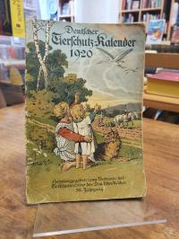 Verband der Tierschutzvereine des Deutschen Reichs (Hrsg.), Deutscher Tierschutz