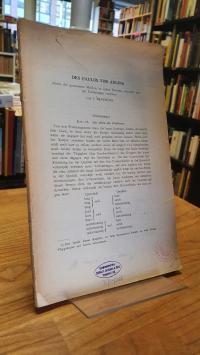 Paulos von Aegina, Abriss der gesammten Medizin in sieben Büchern – Buch I, Kap.
