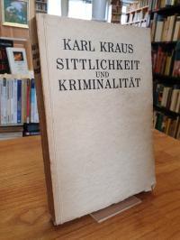 Kraus, Sittlichkeit und Kriminalität,