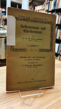 Heinrici, Hellenismus und Christentum,