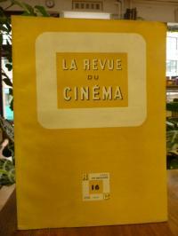 Auriol, La Revue du Cinema – Cahiers mensuels de l'art du film, No. 16,
