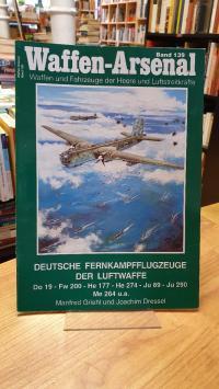 Griehl, Waffen-Arsenal – Band 139: Deutsche Fernkampfflugzeuge der Luftwaffe – D