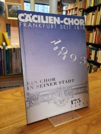 Bomba, Ein Chor in seiner Stadt – 1818-1993 – Festschrift zum 175jährigen Jubilä