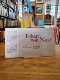 Naso, Verlagswerbung für 'Eckart von Naso im Wolfgang Krüger Verlag',