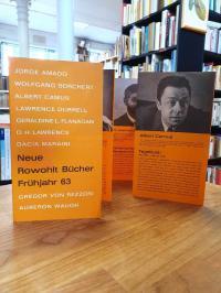 Rowohlt, Verlagswerbung für 'Neue Rowohlt Bücher – Frühjahr 63',