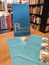 Rowohlt, Verlagswerbung für 'Rowohlt Paperback',