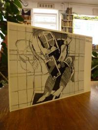 Sartorius, Einladungskarte der Galerie Sous-sol zur Ausstellung Gouachen, Zeichn