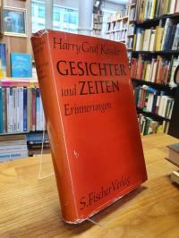 Kessler, Gesichter und Zeiten – Erinnerungen,