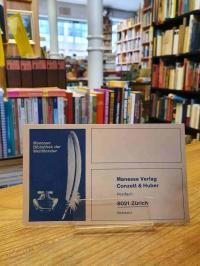 Manesse, Verlagspostkarte zur Manesse-Bibliothek der Weltliteratur,