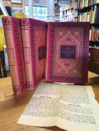 Ebers, Uarda – Roman aus dem alten Ägypten – Bände 1,2,3  (so komplett),