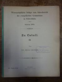 Monse, Zu Catull II,