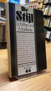 Bächler, De Stijl, Schriften und Manifeste – Zu einem theoretischen Konzept ästh