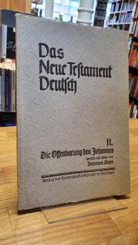 brehm, Das Neue Testament Deutsch – Neues Göttiger Bibelwerk – herausgebe