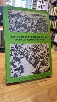 Der Kampf des Volkes von Azania gegen die Kolonialherrschaft,