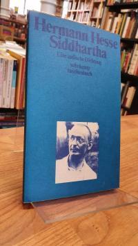 Hesse, Siddhartha – Eine indische Dichtung,