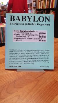 Brumlik, Babylon – Beiträge zur jüdischen Gegenwart – Heft 15 / 1995,